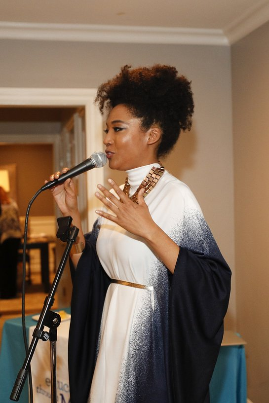 Judith Hill performs at Education Through Music-LA's 4th Annual Music & a Makeover Benefit
