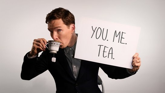 Drink Tea With Benedict Cumberbatch