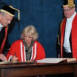 Duchess of Cornwall Awarded Honorary Doctorate For Literacy Work