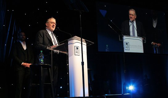 Robert De Niro Speaks At Fulfilment Fund A Legacy of Changing Lives Event