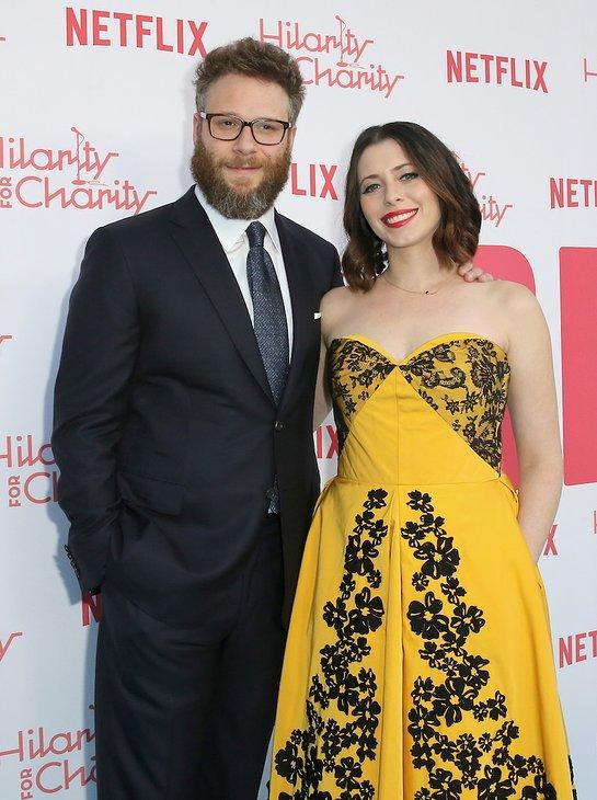 Seth Rogen and Lauren Miller Rogen Attend Hilarity for Charity 2018