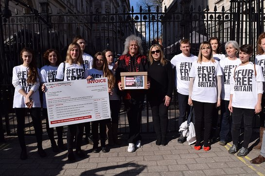 Brian May With Petition To Introduce a UK animal-fur import ban