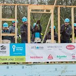 Drew and Jonathan Scott Join Habitat For Humanity To Kick Off Home Is The Key Campaign
