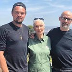 Jane Goodall Meets Leonardo DiCaprio At Charity Event