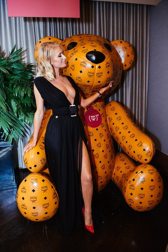 Paris Hilton at MCM x (RED) Daily Front Row FLA After Party