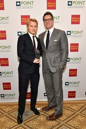 Ronan Farrow and Thomas Roberts