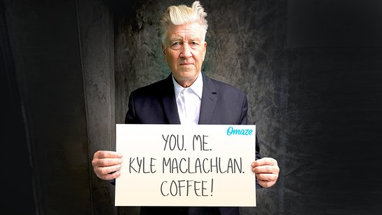 Enjoy a Damn Good Cup of Coffee with David Lynch and Kyle MacLachlan