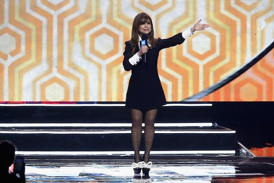 Paula Abdul at WE Day California 2018
