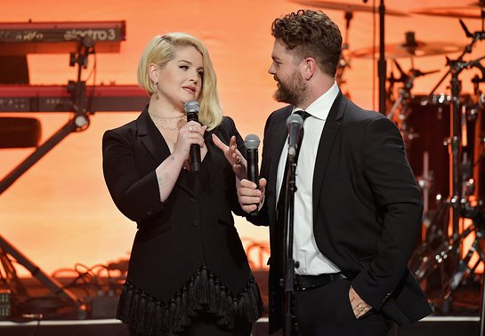 Kelly and Jack Osbourne at 25th Anniversary Race to Erase MS Gala