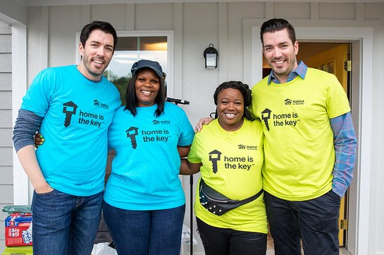 Habitat For Humanity And The Scott Brothers Celebrate