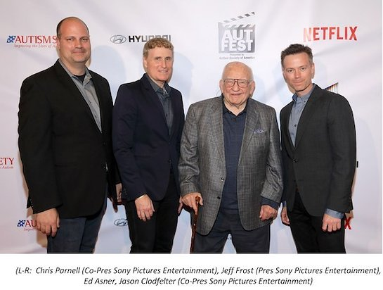 Ed Asner at 2nd Annual AutFest Film Festival