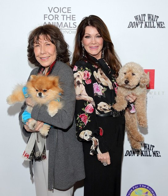 Lily Tomlin and Lisa Jane Vanderpump