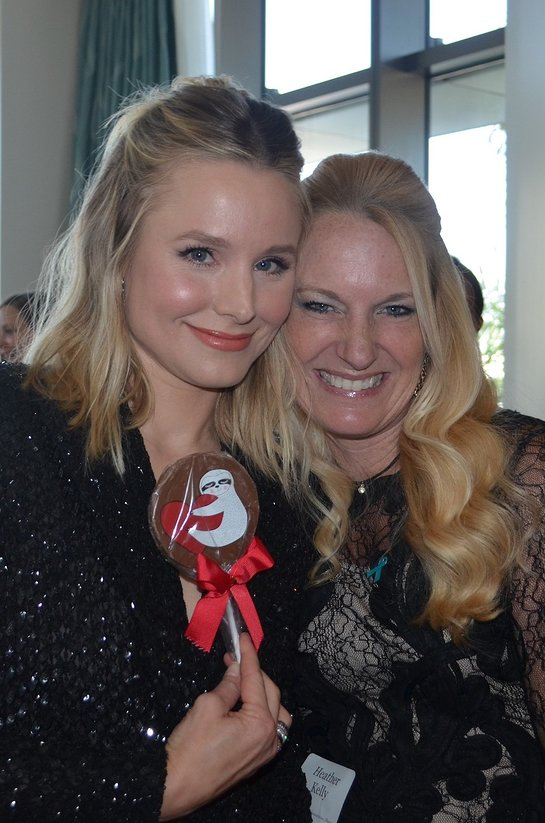 Kristen Bell and Heather Stevenson Kelly