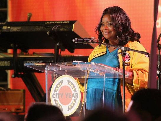 Octavia Spencer speaks at City Year Los Angeles' Spring Break: Destination Education