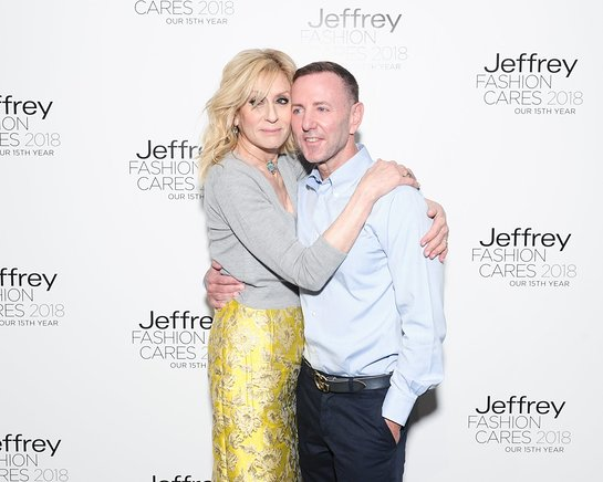 Judith Light, Jeffrey Kalinksky at Jeffrey Fashion Cares
