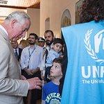 British Royals Visit Refugee Accommodation Project On Crete