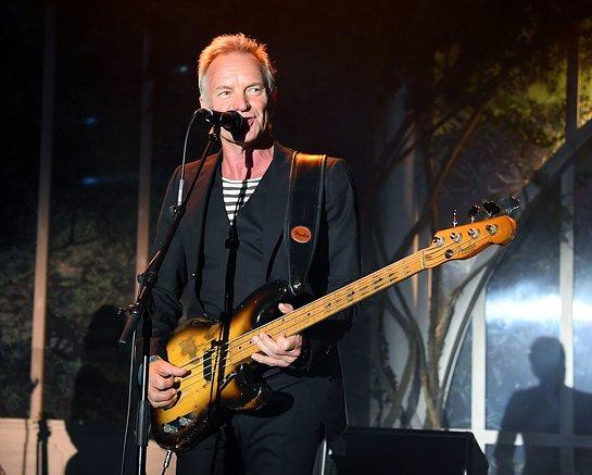 Sting Performs At 25th annual amfAR Gala Cannes