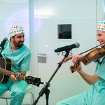 Sharon Corr and Alex Ubago Perform Concert For Embryos