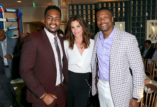 Bill Bellamy, Cindy Crawford, Chris Tucker