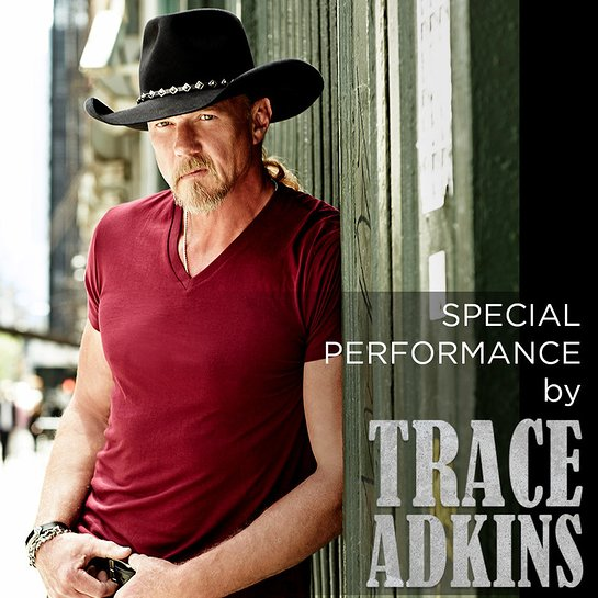Trace Adkins will put on a special performance for attendees of this year's event