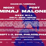 Nicki Minaj And Post Malone Headline 2018 MADE IN AMERICA Festival