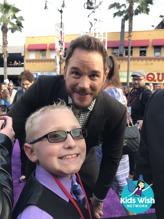 Zack meets Chris Pratt