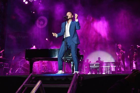 John Legend Performs At Fourth Annual Blue Diamond Gala