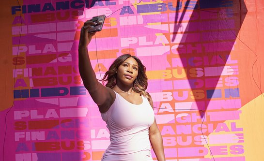Serena Williams Launches National Street Art Campaign