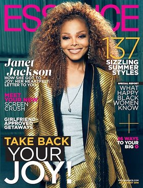 Janet Jackson ESSENCE cover