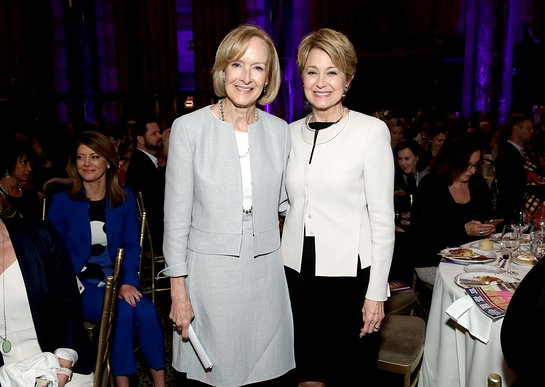 2018 Lifetime Achievement Award Winner Judy Woodruff presented by 2017 Lifetime Achievement Award Winner Jane Pauley