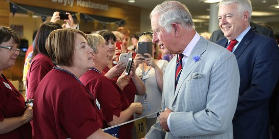 Prince of Wales Celebrates 70th Anniversary of NHS