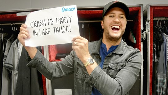 Crash Luke Bryan's Party and Meet Him Backstage