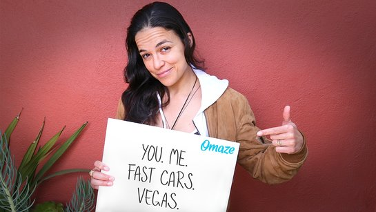Race Supercars with Michelle Rodriguez in Las Vegas