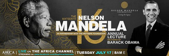The Nelson Mandela Annual Lecture