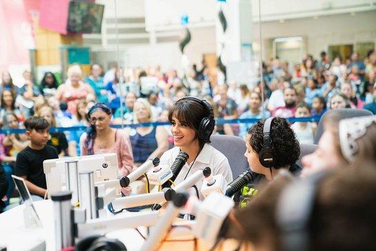 Camila Cabello at Children's Hospital of Philadelphia