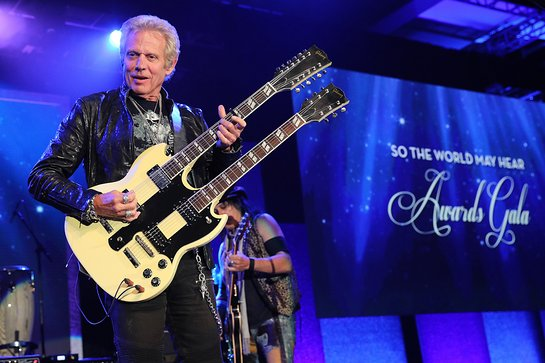 Don Felder performs at the 2018 So the World May Hear Awards Gala