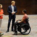 The Duke Of Sussex Visits RFU Injured Players Foundation