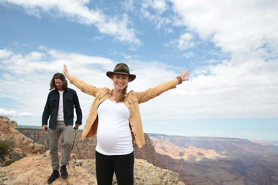 Sierra Club Ambassador Yvonne Strahovski joins Sierra Club Outing to the Grand Canyon