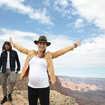 The Handmaid's Tale Star Yvonne Strahovski Visits Grand Canyon With Sierra Club