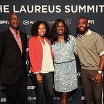 Top Athletes Gathered For The Laureus Summit Presented By ESPN On Nelson Mandela's Centennial
