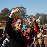 Lilly Singh Visits South Africa To Meet Students Affected By Violence In School