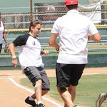 Prince Jackson Joins Stars At The Dee Dee Jackson Foundation Celebrity Softball Game