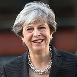 Theresa May Awards Outstanding Young UNICEF Goodwill Ambassador