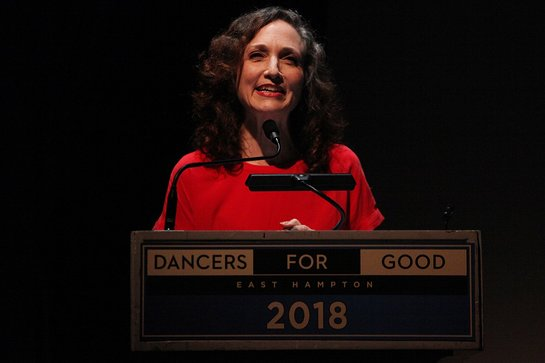 Dance Humanitarian Award recipient Bebe Neuwirth