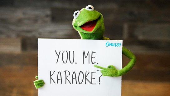 Karaoke with Kermit the Frog