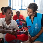 Gugu Mbatha-Raw Meets Refugees in Rwanda with UNHCR
