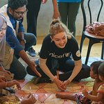 Gigi Hadid Visits UNICEF Programming In Bangladesh