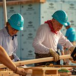 Jimmy Carter In Indiana To Build New Habitat For Humanity Homes