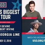 Florida Georgia Line To Headline World's Biggest USO Tour