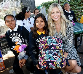 Sarah Michelle Geller Blessings In A Backpack